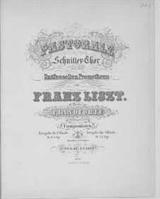 Pastorale in A Major, S.508: Pastorale in A Major by Franz Liszt