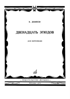 Etudes, L.136: Complete set by Claude Debussy