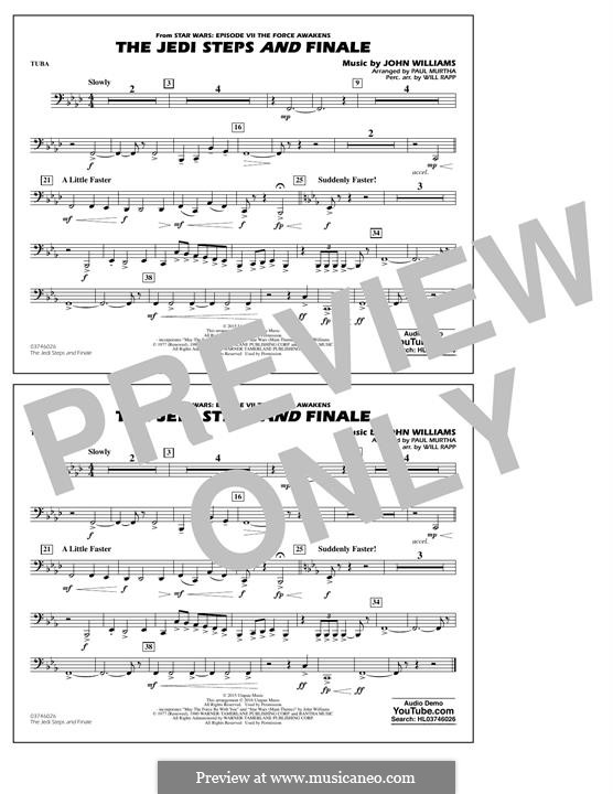The Jedi Steps and Finale (from Star Wars: The Force Awakens): Tuba part by John Williams