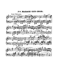 March and Choir: March and Choir by Ludwig van Beethoven