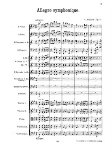 Symphonic Allegro, Op.7: Symphonic Allegro by Konstantin Antipov