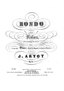 Rondo for Violin and Piano, Op.15: Solo part by Alexandre Joseph Artôt