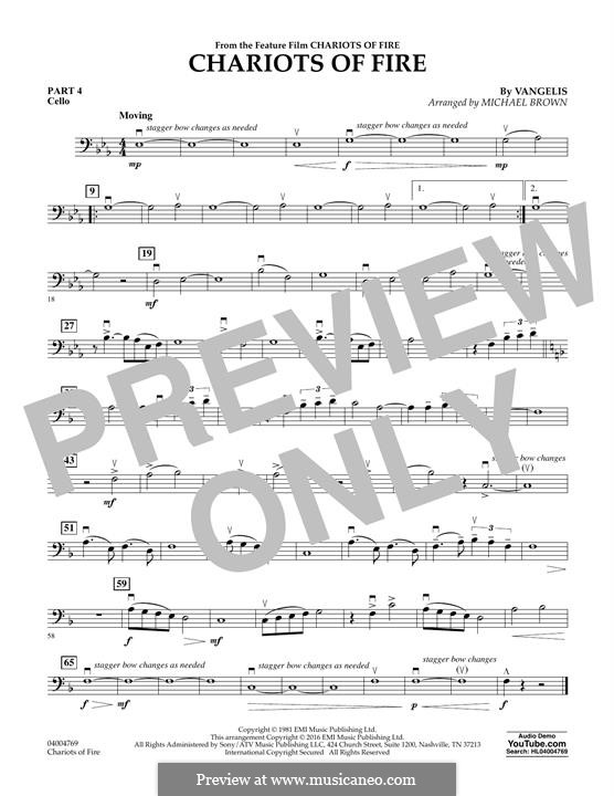 Chariots of Fire (arr. Michael Brown): Pt.4 - Cello by Vangelis