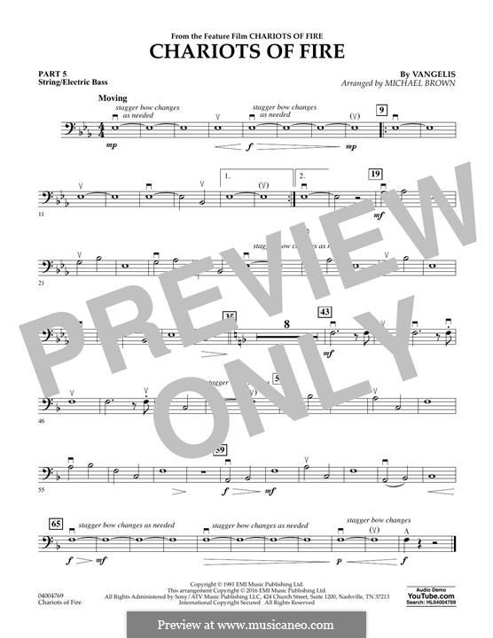 Chariots of Fire (arr. Michael Brown): Pt.5 - String/Electric Bass by Vangelis