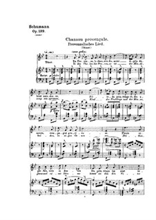 Des Sängers Fluch, Op.139: Nr.4, 7 by Robert Schumann