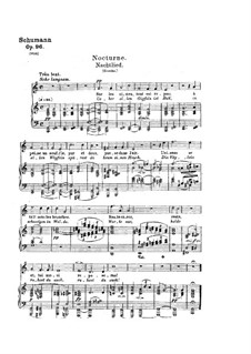 Songs and Romances, Op.96: Piano-vocal score by Robert Schumann