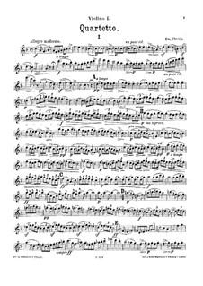String Quartet in D Minor: String Quartet in D Minor by Emanuel Chvála