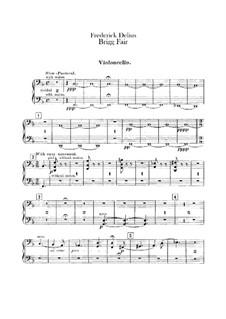Brigg Fair : Cellos part by Frederick Delius