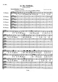 Edel sei der Mensch, WoO 185: Edel sei der Mensch by Ludwig van Beethoven