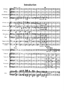Scottish Fantasia for Violin and Orchestra, Op.46: Full score by Max Bruch