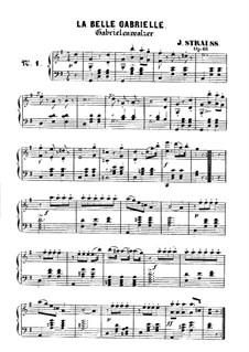 La belle Gabrielle, Op.68: La belle Gabrielle by Johann Strauss (Sohn)