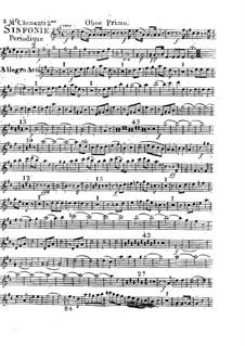Symphony No.2 in D Major, Op.18: Oboe I part by Muzio Clementi