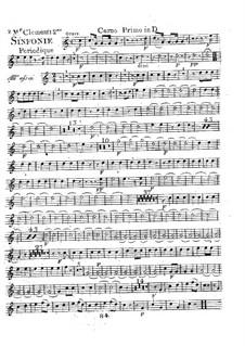 Symphony No.2 in D Major, Op.18: Horn I part by Muzio Clementi