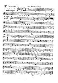 Symphony No.2 in D Major, Op.18: Horn II part by Muzio Clementi