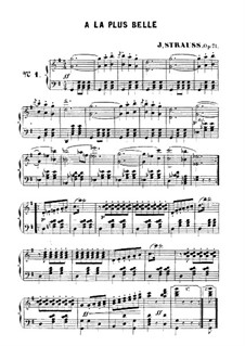 A la plus belle: A la plus belle by Johann Strauss (Sohn)
