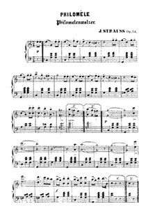 Philomèle: Philomèle by Johann Strauss (Sohn)
