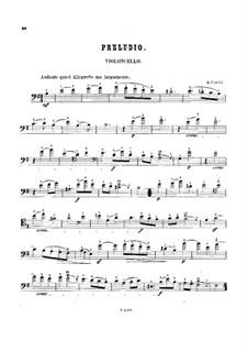 Sonata No.8: Movement I. Arrangement for cello and piano – solo part by Arcangelo Corelli