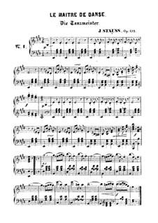Le maitre de danse, Op.135: Le maitre de danse by Johann Strauss (Sohn)