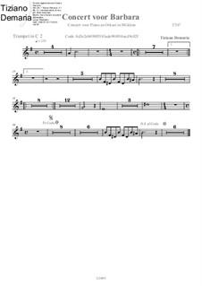 Concert voor Barbara: Trumpet in C II part by Tormy Van Cool