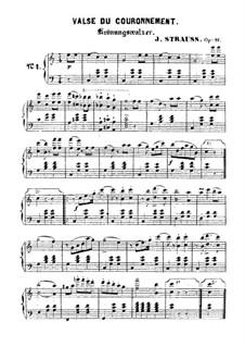 Valse du couronnement: Valse du couronnement by Johann Strauss (Sohn)
