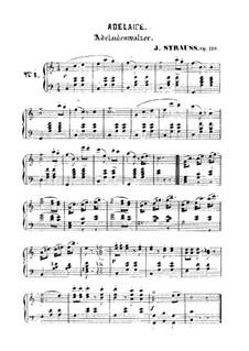 Adelaide: Adelaide by Johann Strauss (Sohn)