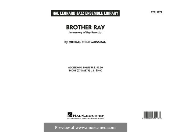 Brother Ray: Full Score by Michael Philip Mossman