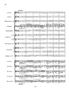 Movement IV: Full score by Johannes Brahms