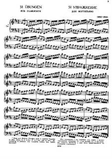 Fifty-One Exercises for Piano, WoO 6: Complete set by Johannes Brahms