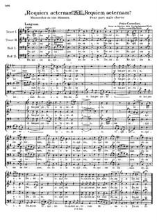 Requiem aeternam: Requiem aeternam by Peter Cornelius