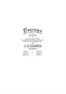 Eighty-Four Etudes, Op.50: Book IV, No.64-84 by Johann Baptist Cramer
