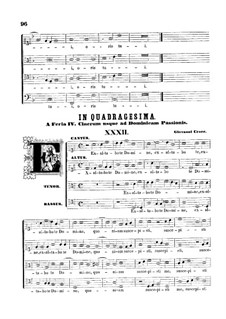 Exaltabo te Domine: Exaltabo te Domine by Giovanni Croce