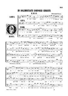 O sacrum convivium: O sacrum convivium by Giovanni Croce