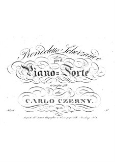 Rondoletto scherzando, Op.53: Rondoletto scherzando by Carl Czerny