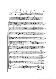Vénus et Adonis: Full score by Henri Desmarets