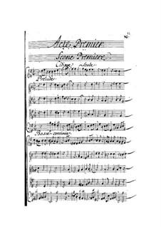 Vénus et Adonis: Act I by Henri Desmarets