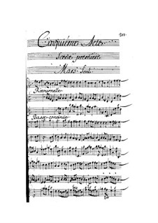 Vénus et Adonis: Act V by Henri Desmarets