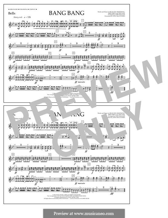 Bang Bang (Green Day): Bells part by Billie Joe Armstrong, Tré Cool, Mike Dirnt