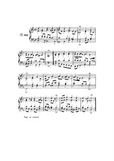Choix de chorals: Choral No.81 by Johann Sebastian Bach