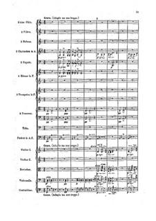 Symphony No.3 'Tragica', Op.40: Movement II. Full Score by Felix Draeseke