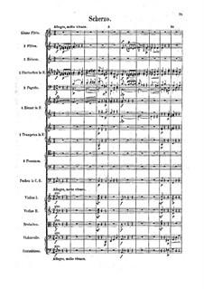 Symphony No.3 'Tragica', Op.40: Movement III. Full Score by Felix Draeseke
