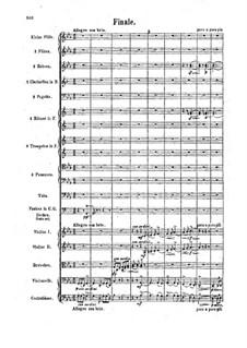 Symphony No.3 'Tragica', Op.40: Movement IV. Full Score by Felix Draeseke