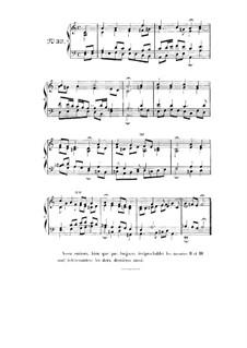 Choix de chorals: Choral No.33 by Johann Sebastian Bach
