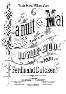 La nuit de mai (A Night in May), Op.108: La nuit de mai (A Night in May) by Ferdinand Dulcken