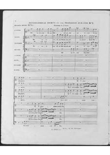 Misericordias Domini for Double Choir: No.2 in G Minor by Francesco Durante