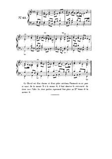 Choix de chorals: Choral No.45 by Johann Sebastian Bach