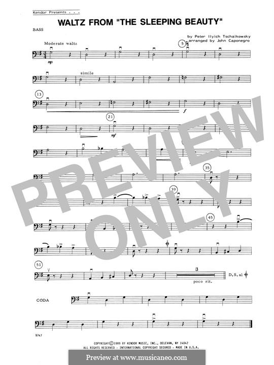 Waltz: For strings – Bass part by Pyotr Tchaikovsky