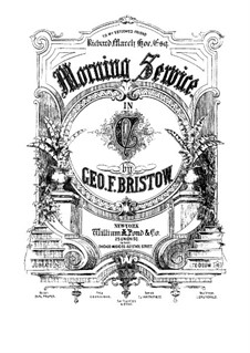 Morning Service, Op.54: No.2 Jubilate by George Frederick Bristow