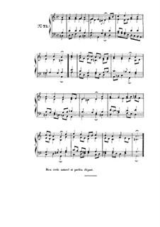 Choix de chorals: Choral No.75 by Johann Sebastian Bach