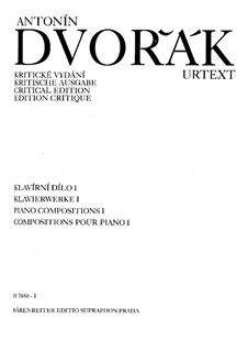 Theme and Variations, B.65 Op.36: For piano by Antonín Dvořák