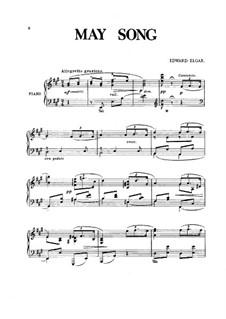 May-Song: May-Song by Edward Elgar